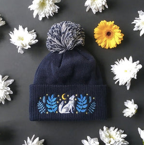 Fantastical Embroidered Hats by Papio Press