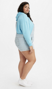 Plus-Size Levi's Shortall: Light Blue