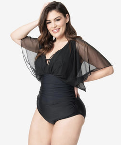 Drama Queen One-Piece (sizes S-3X)