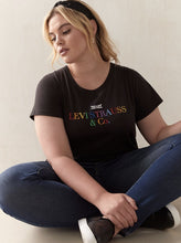 Load image into Gallery viewer, Plus: Levi's Rainbow Embroidered Tee