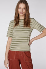 Load image into Gallery viewer, Froggy Striped Tee