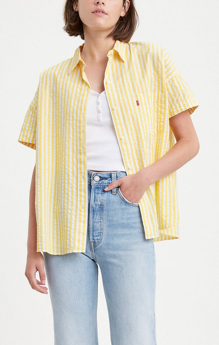 Sunny Day Striped Blouse