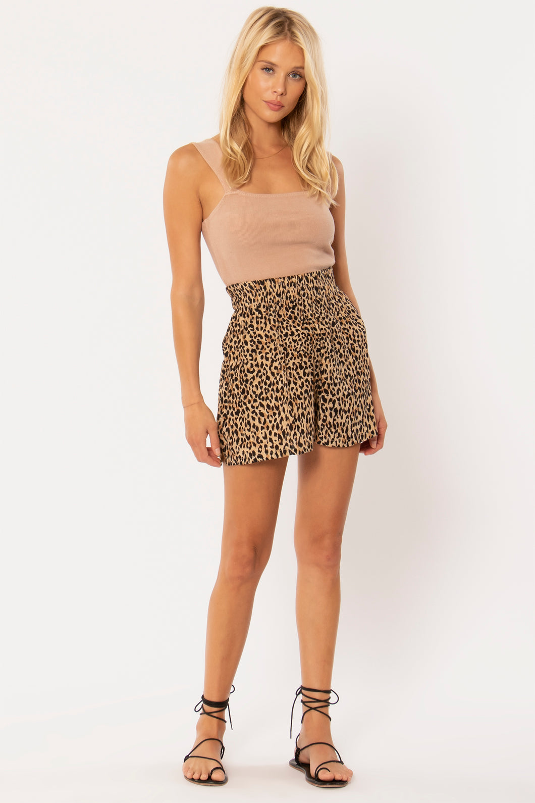 Tiger Queen Shorts