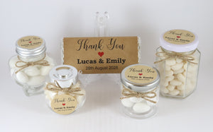 Rustic Vintage Kraft Brown Thank You