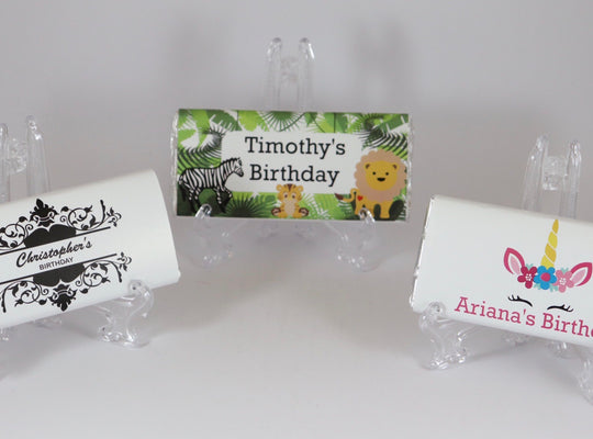 Personalised Birthday Chocolate Bars