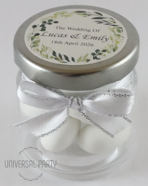 sugared almonds wedding