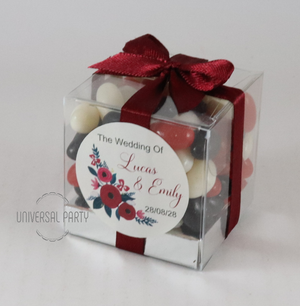candy box bombonieres favours