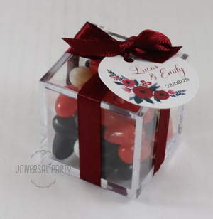 Personalised Wedding Favours Candy Lollies