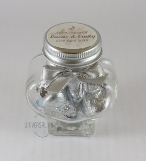 heart jar hersheys kisses