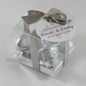 hershey kisses chocolate box favours bombonieres
