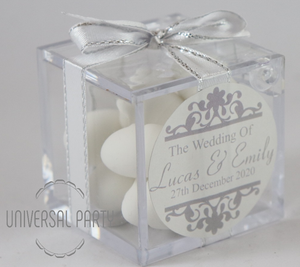 wedding sugared almonds bombonieres favours