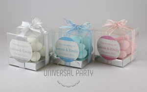 sugared almonds bombonieres favours box personalised
