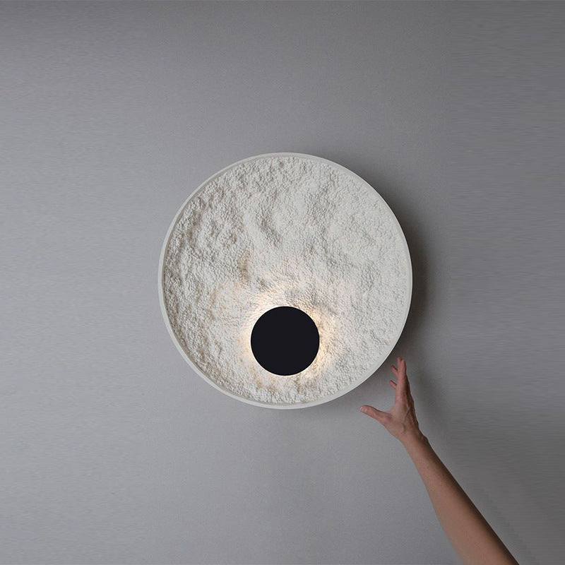 Nordic Round Wall Lamp For Living Room Decorative Bedroom Bedside Lamp