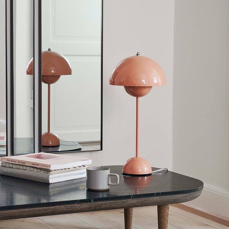 Minimalist Metal Table Lamp Creative Beside Lamp