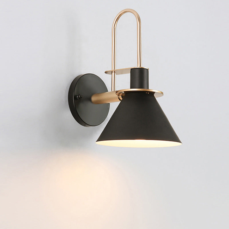 Black Industrial Wall Lamp Fixture Lighting For Bedroom