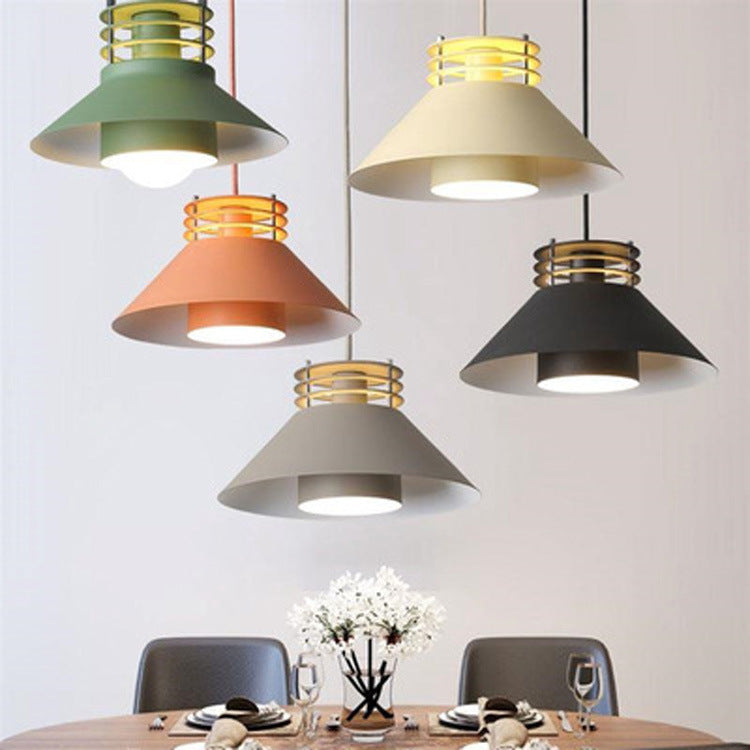 Minimalism Metal Pendant Light Design Light Fixture