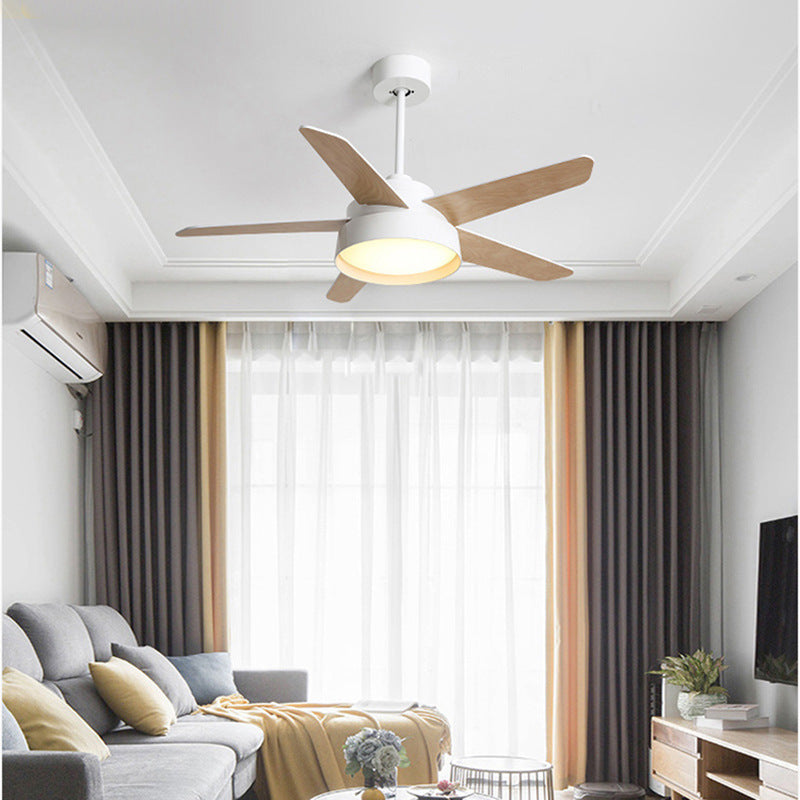"Remote Control 52"" Decorative DC Ceiling Fan With Light"
