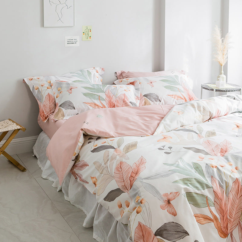 Soft Bedding Set For Bedroom Quality Quilt Cover And Pillowcase