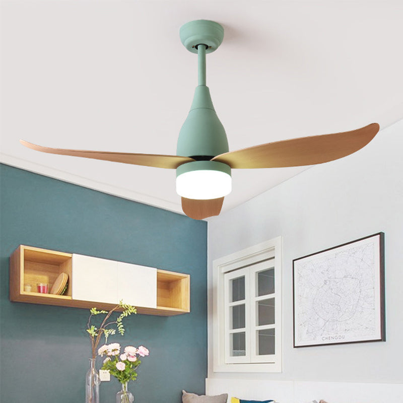 "44"" Remote Control Wood Ceiling Fans For Bedroom"