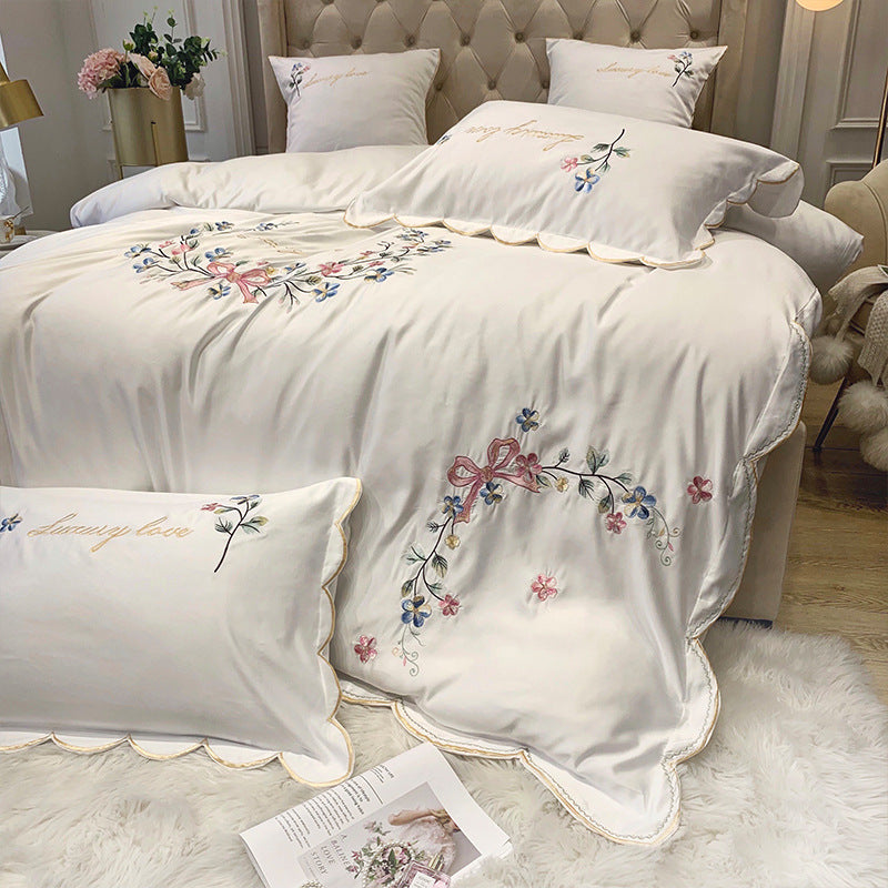 Nordic Quilt Covers Bedding Sets Double Duvet Cover Set