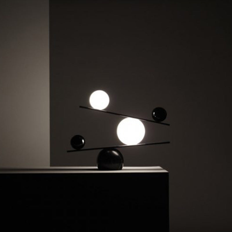 Minimalism Black Table Lamp For Living Room