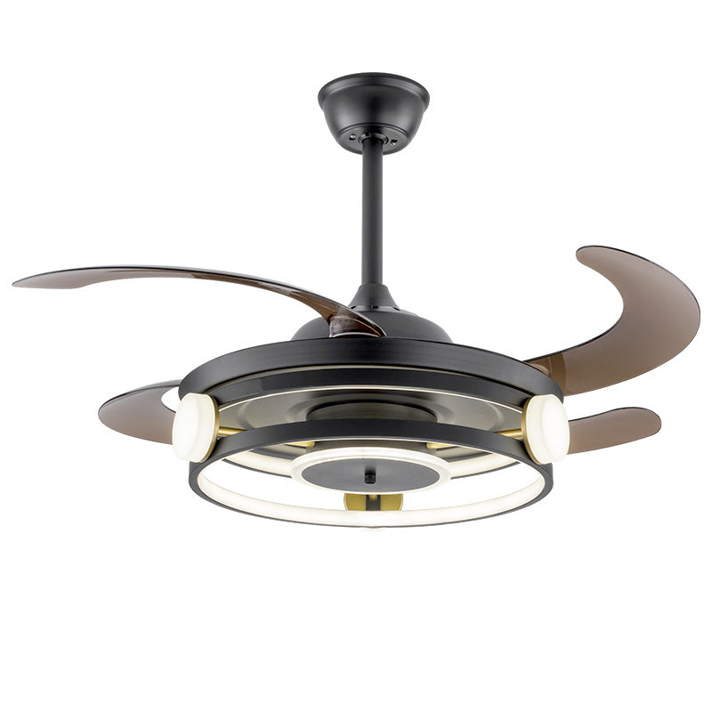 "Modern 42"" LED Ceiling Fan With Remote Control"