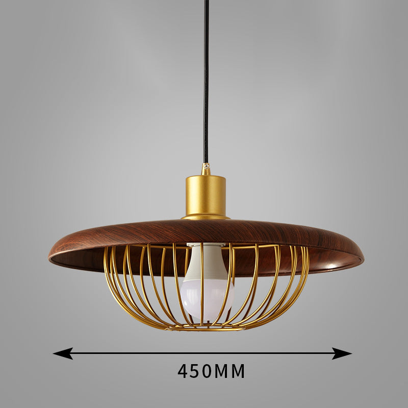 Modern 1 Head Chandelier Nordic Wood Pendant Light