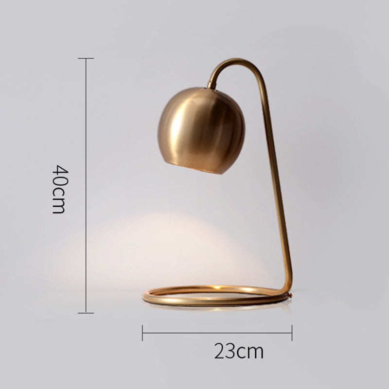 Nordic Copper Table Lamp Bedroom Bedside Lamp