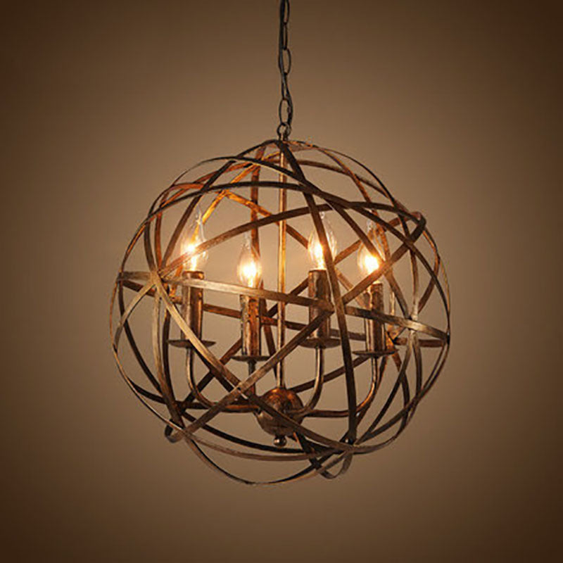 Vintage Metal Pendant Light For Loft