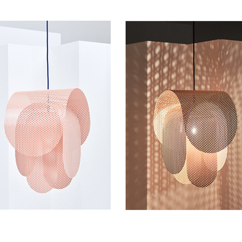 Creative Pink Pendant Light Nordic Children's Bedroom Chandelier