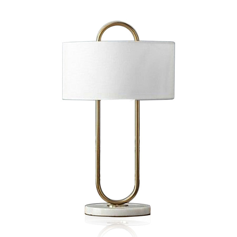 Modern Simple Design Desk Lamp with White Base