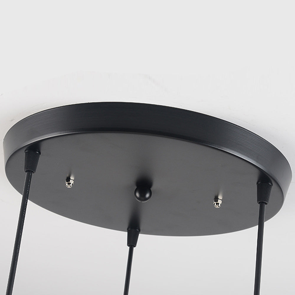 Art Macaron Ceiling Lighting Based Metal Plafonnier