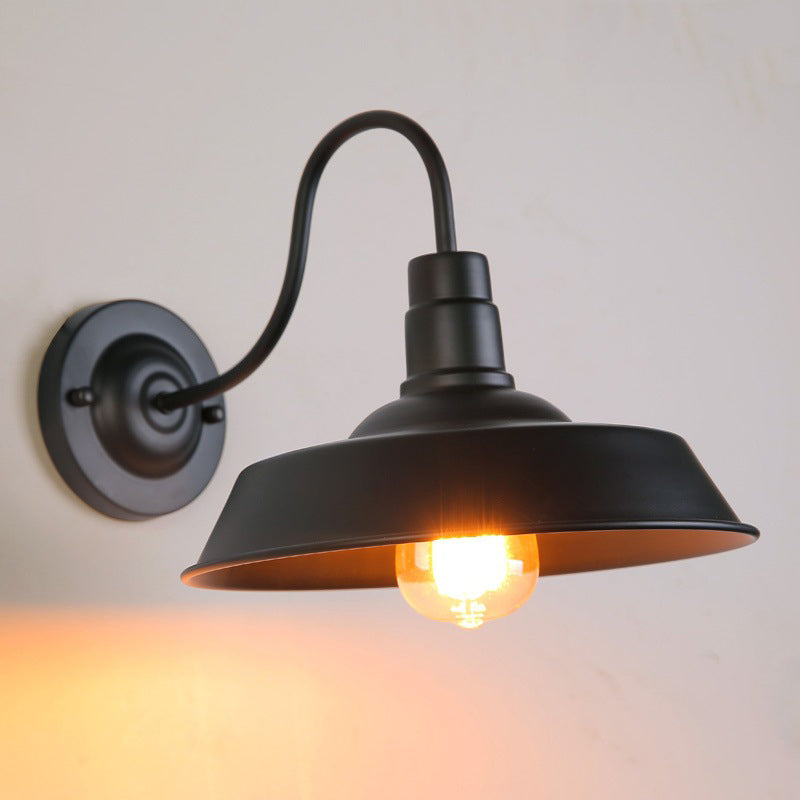 Vintage Black Industrial Wall Lighting Lamp