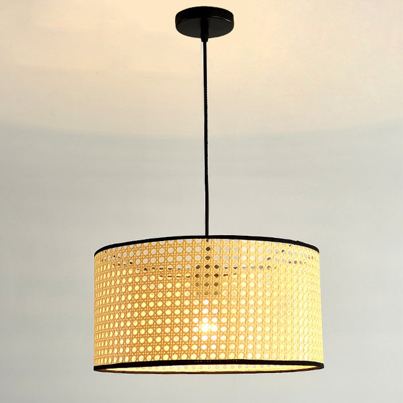 Natural Woven Lamp Simple Pendant Lampshades