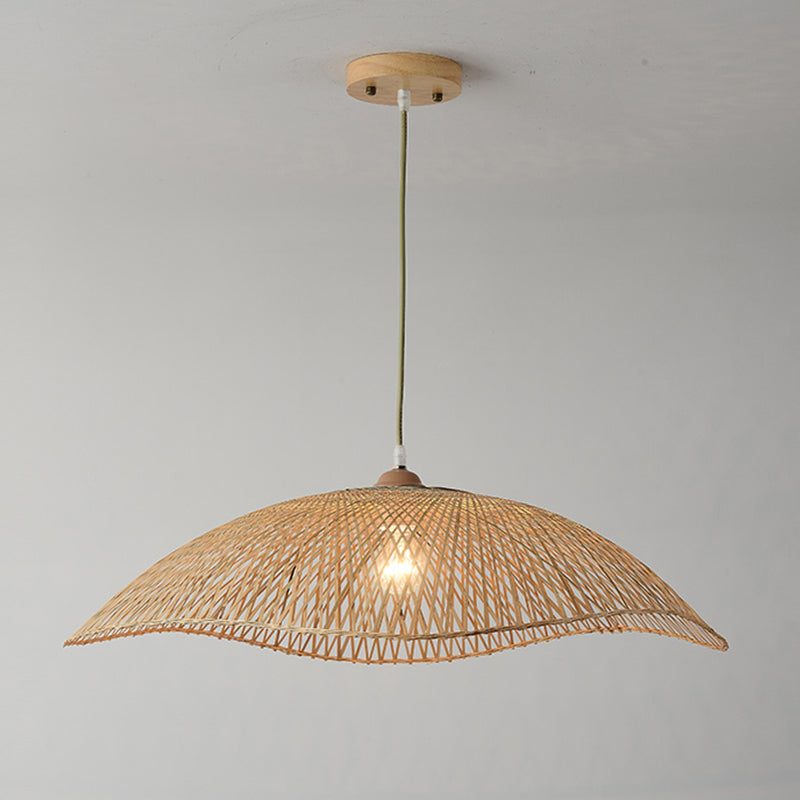Bamboo Woven Light Shade Pendant Lighting