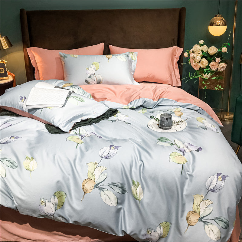 Luxury Cotton Bedding Sets Nordic Bed Quilt Covers