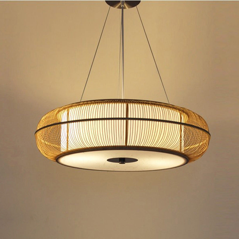 Asian Style Bamboo Ceiling Lamp Shades