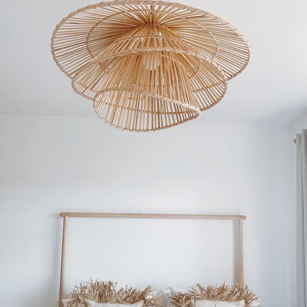 Natural Bamboo Weaver Pendant Lamp
