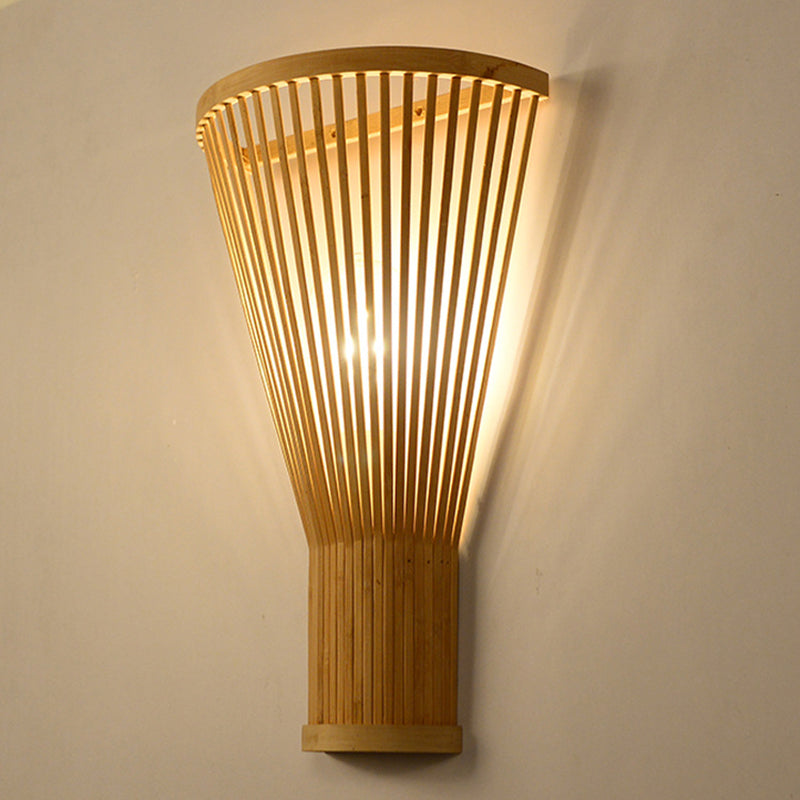 Vintage Bamboo Wall Lamp Shades