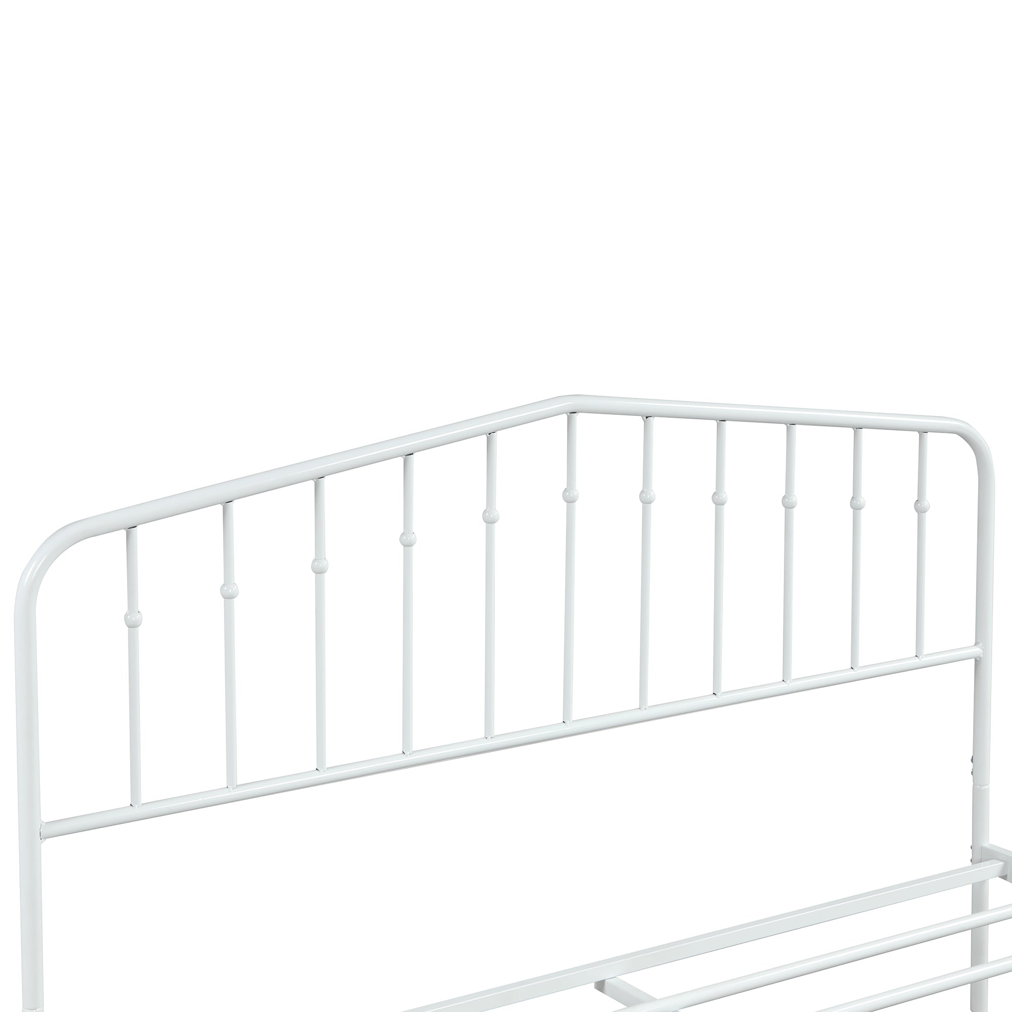 "39"" Queen Size Steel Platform Bed"