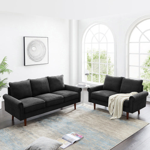 2 Piece Standard Sofa Set For Living Room
