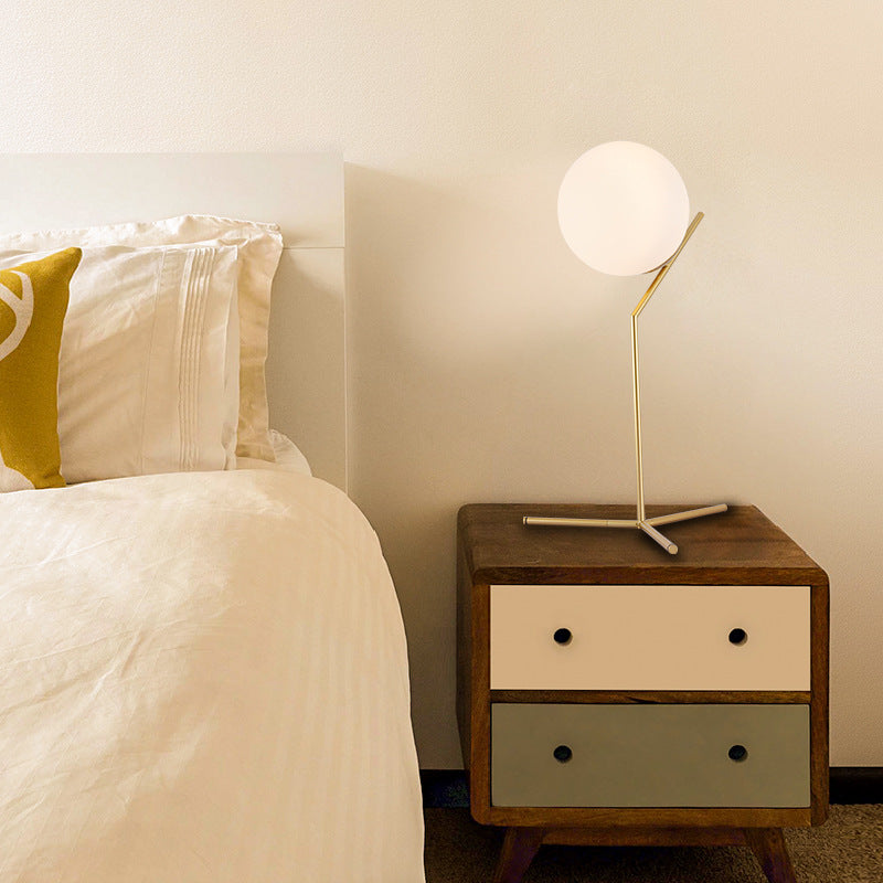 Modern Nordic Gold Table Desk Lamp