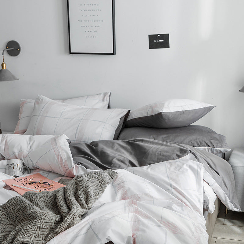 Minimalist Bedding Set Adult Duvet Cover Sets