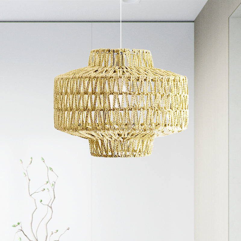 Rope Woven Pendant Light Lamp Shade