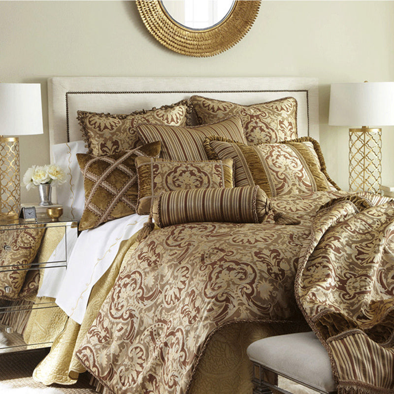 Designer Golden Mental Bedroom Beside Table Lamp