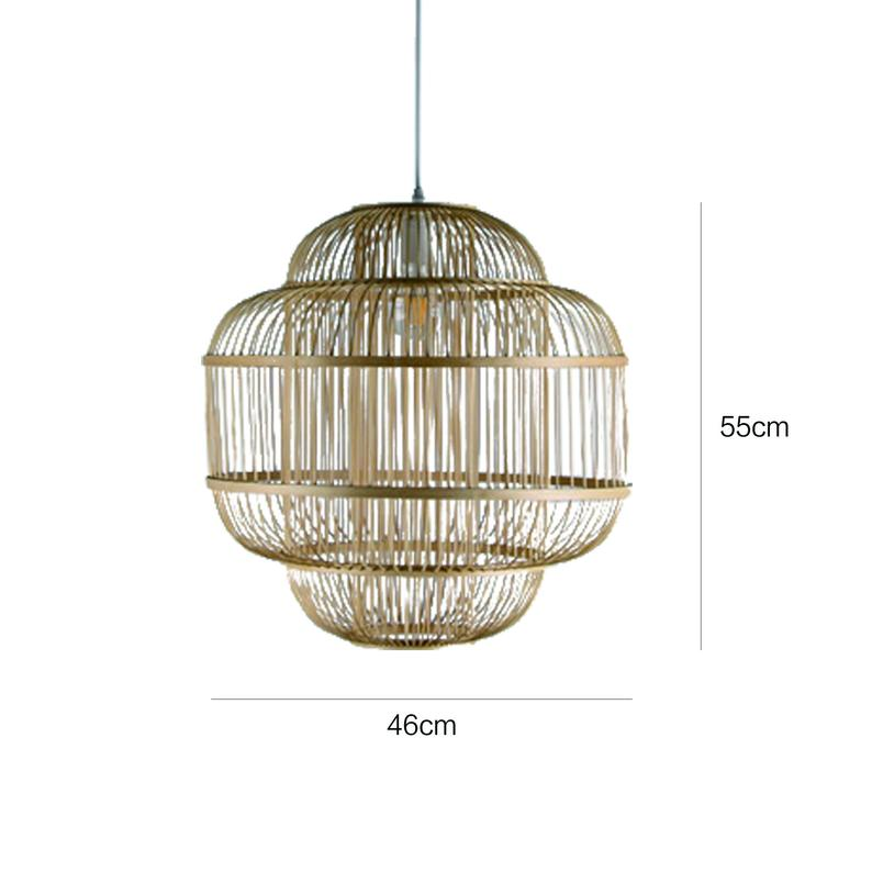 3 Layer Nature Light Fixture Ceiling Light Shade