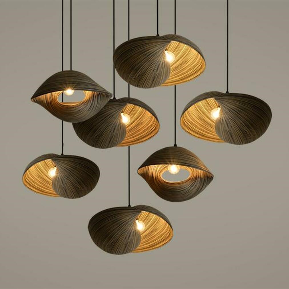 Design Bamboo Woven Pendant Light
