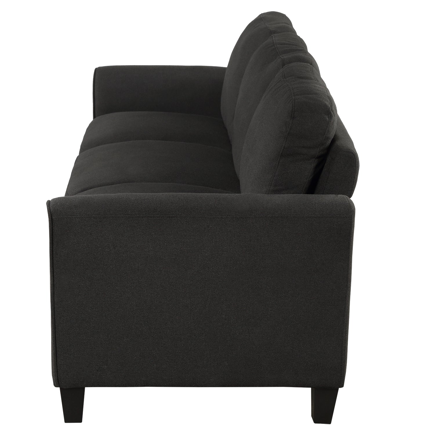 Nordic 3-Seat Linen Fabric Sofa For Living Room
