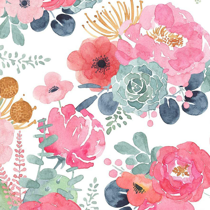 Self Adhesive Contact Floral Wallpaper