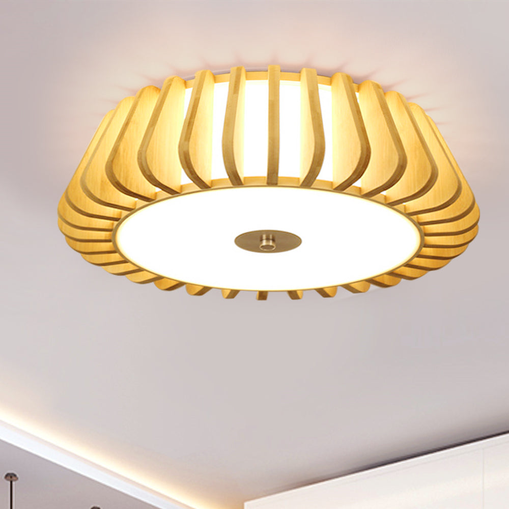 Mid Century Flush Mount Ceiling Light